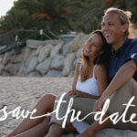 """Save-the-Date"" Karte 1"